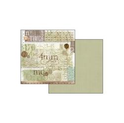 Papier do scrapbookingu 30,2x31,2 cm - 214