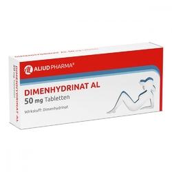 Dimenhydrinat al 50 mg tabl.