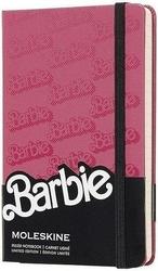 Notes moleskine barbie p edycja limitowana logo