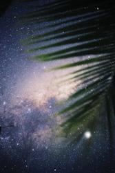 Gwiezdna mgławica - plakat