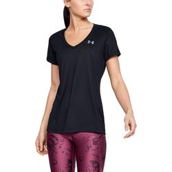 Koszulka damska under armour tech ssv - solid - czarny