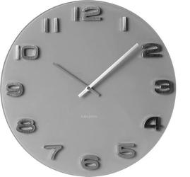 Zegar ścienny vintage okrągły szary