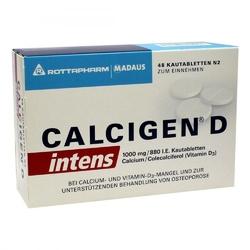 Calcigen d intens 1000 mg880 i.e. kautabletten