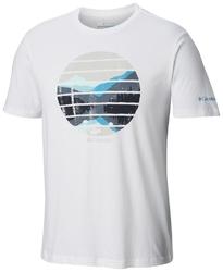 T-shirt męski columbia lana montaine em0731100