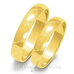 Obrączki ślubne złoty skorpion – wzór au-o24