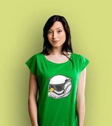 Szturmulka t-shirt damski zielony xxl