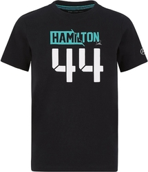 Koszulka dziecięca mercedes amg petronas f1 lewis hamilton 44