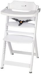 Safety 1st timba white drewniane krzesełko do karmienia + puzzle