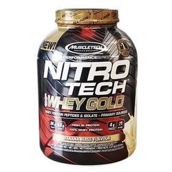Muscle tech - nitro tech 100 whey gold - 2490g