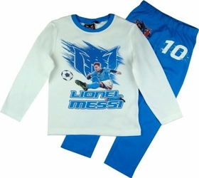 Lionel Messi piżama chłopięca biała 8 lat