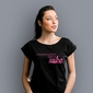 Umiarkowanie zimna suka t-shirt damski czarny s