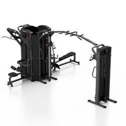 Wieża 6-stanowiskowa midi mp-t002 - marbo sport - czarny  antracyt metalic