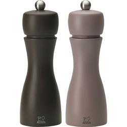 Młynki do pieprzu i soli peugeot tahiti duo zima kawowy  pralinowy pg-2-33293