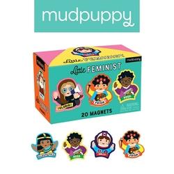 Zestaw magnesów mudpuppy - niewykłe kobiety 20 elem.