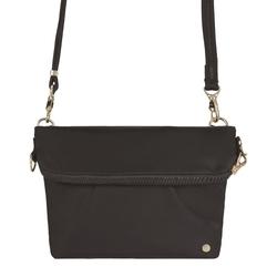 Składana torebka damska antykradzieżowa pacsafe citysafe cx convertible czarny - czarny
