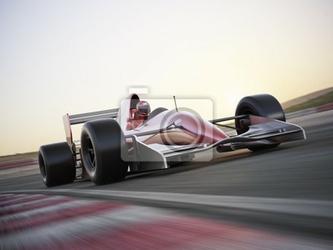 Fototapeta racer car indy z niewyraźne tło