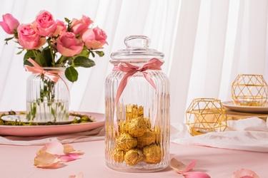 Słoik  pojemnik szklany do przechowywania żywności altom design amelia  1250 ml