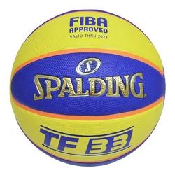 Piłka do koszykówki spalding tf-33 game ball streetball 3x3