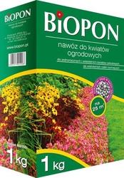 Biopon, nawóz granulowany do kwiatów ogrodowych, 1kg