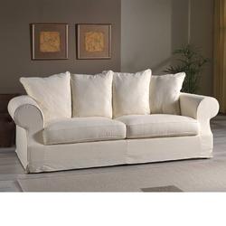 Sofa siena ii w stylu prowansalskim  szer. 207 cm