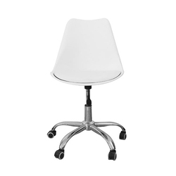 Fotel obrotowy biurowy krzesło biurowe obrotowe białe