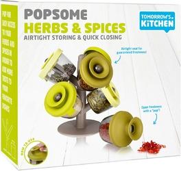 Pojemniki na zioła lub przyprawy popsome tomorrows kitchen zielone tk-2843660