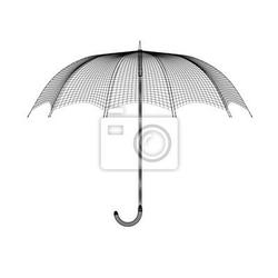 Naklejka ombrello tratto linee