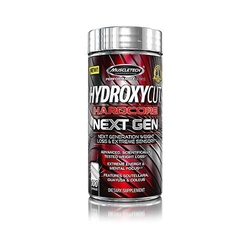 Muscle tech hydroxycut hardcore next gen 100 caps