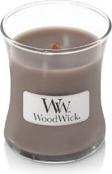 Świeca core woodwick black amber  citrus mała