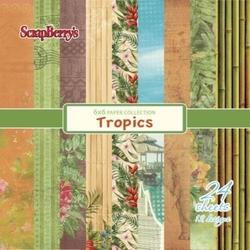 Zestaw papierów TROPICS15x1524 szt. - TRIS