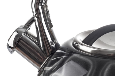 Kinghoff czajnik stalowy czarny 2.7 l indukcja