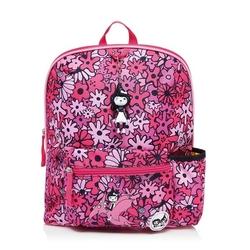 Plecak zipzoe midi - floral pink 3-5lat