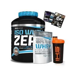 Biotech iso whey zero 2270 g 100 pure whey 1000g gratisy