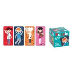 Puzzle dwuczęściowe apli kids - zawody