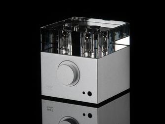 Woo audio wa7 fireflies + zasilacz lampowy kolor: srebrny