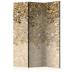 Parawan 3-częściowy - sztuka i motyle room dividers