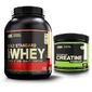 Optimum nutrition whey gold standard - 2270g + creatine - 144g