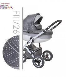 Wózek baby merc faster 3 style 3w1 fotel maxi cosi cabriofix