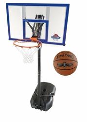 Zestaw do koszykówki Lifetime New York 90000 + Piłka Spalding NBA Platinum Streetball Outdoor