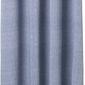 Zasłona prysznicowa chambray niebieska