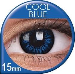 Big eyes cool blue