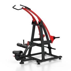 Maszyna na wolny ciężar na najszerszy grzbietu mf-u005 - marbo sport - czarny  antracyt metalic