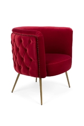 Bold monkey fotel lounge such a stud czerwony bm31006