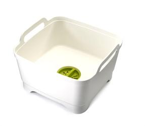 JJ - Miska z odpływem WashDrain, biała - biały || szara || zielony