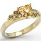 Pierścionek z żołtego złota topaz honey i diamenty ap-53z rozmiar 12 .wysyłka w następny dzień roboczy - sprawdź dostępność