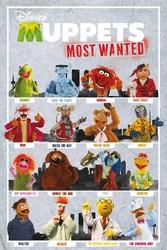 Muppety: Poza prawem - plakat