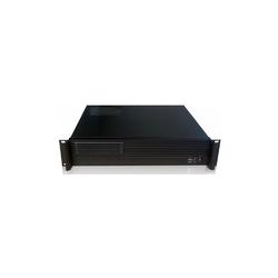 Techly kompaktowa obudowa pc atx rack 19cali 2u czarna