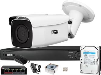 Zestaw monitoringu bcs view rejestrator ip 1x kamera bcs-v-ti831ir8