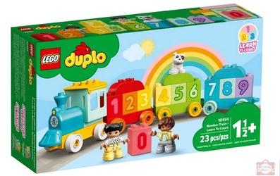 Lego 10954 duplo pociąg z cyferkami nauka liczenia