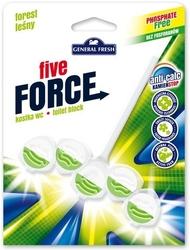 General fresh, five force, las, zawieszka do toalety, 50g